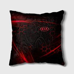 Подушка квадратная KIA цвета 3D — фото 1