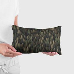 Подушка-антистресс Лесной камуфляж цвета 3D — фото 2