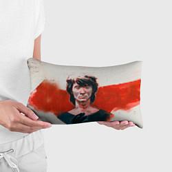 Подушка-антистресс Молодой Цой цвета 3D — фото 2