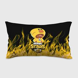 Подушка-антистресс BRAWL STARS SALLY LEON цвета 3D — фото 1