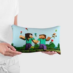 Подушка-антистресс Minecraft Stories цвета 3D — фото 2