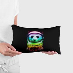 Подушка-антистресс Панда космонавт цвета 3D — фото 2