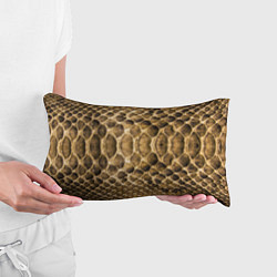Подушка-антистресс Змеиная кожа цвета 3D-принт — фото 2