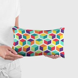 Подушка-антистресс 3D кубы цвета 3D — фото 2