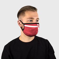 Маска для лица Сборная Сербии цвета 3D — фото 1