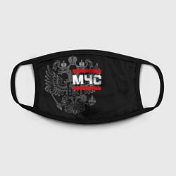 Маска для лица МЧС: герб РФ цвета 3D-принт — фото 2