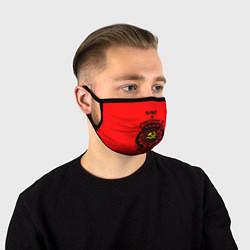 Лицевая защитная маска с принтом Олег: сделано в СССР, цвет: 3D, артикул: 10143340105881 — фото 1