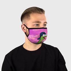 Маска для лица Удав Крейг цвета 3D-принт — фото 1