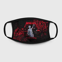 Маска для лица Metallica цвета 3D-принт — фото 2