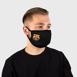 Маска для лица BARCELONA FC цвета 3D — фото 1