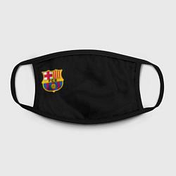 Маска для лица BARCELONA FC цвета 3D-принт — фото 2
