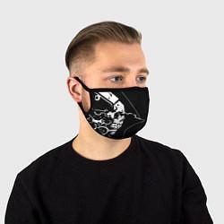 Маска для лица DEATH STRANDING цвета 3D-принт — фото 1