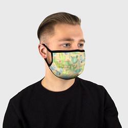 Лицевая защитная маска с принтом Кактусы в пустыне, цвет: 3D, артикул: 10267743905881 — фото 1