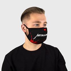 Маска для лица METALLICA МЕТАЛЛИКА цвета 3D-принт — фото 1