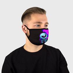 Маска для лица Friday Night Funkin SKID цвета 3D-принт — фото 1