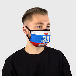 Маска для лица Russia: from 38 цвета 3D-принт — фото 1