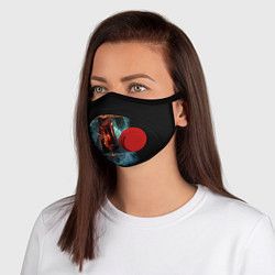 Маска с клапаном Blind Guardian: Beyond The Red Mirror цвета 3D-красный — фото 1