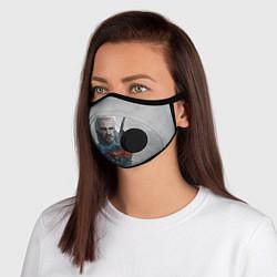 Неопреновая маска с клапаном с принтом ВЕДЬМАК, цвет: 3D-черный, артикул: 10214360505999 — фото 1