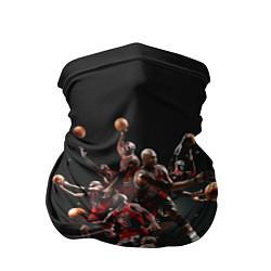 Бандана-труба Michael Jordan Style цвета 3D-принт — фото 1