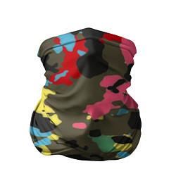 Бандана-труба Цветной камуфляж цвета 3D — фото 1