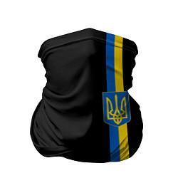 Бандана-труба Украина цвета 3D — фото 1