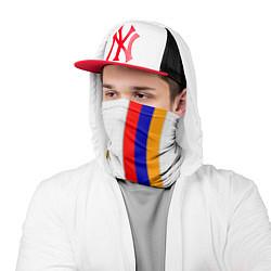 Бандана-труба I Love Armenia цвета 3D — фото 2