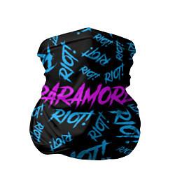 Бандана-труба Paramore RIOT! цвета 3D-принт — фото 1
