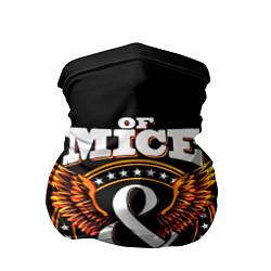 Бандана-труба Of Mice & Men цвета 3D-принт — фото 1