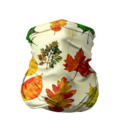 Бандана-труба Осень цвета 3D — фото 1