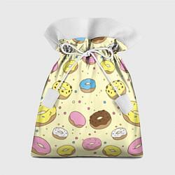 Мешок для подарков Сладкие пончики цвета 3D — фото 1