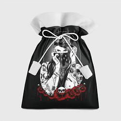 Мешок для подарков Тату-мастер цвета 3D — фото 1