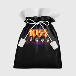 Мешок для подарков KISS: Death Faces цвета 3D — фото 1