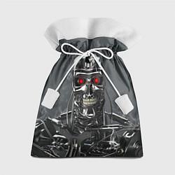Мешок для подарков Скелет Терминатора цвета 3D-принт — фото 1