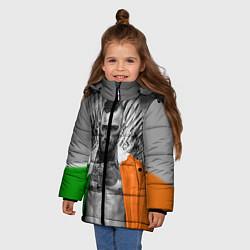 Куртка зимняя для девочки McGregor: Boxing of Thrones цвета 3D-черный — фото 2