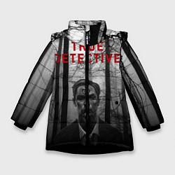 Куртка зимняя для девочки True Detective: Blackwood цвета 3D-черный — фото 1