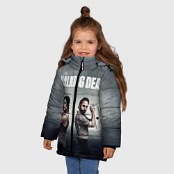 Куртка зимняя для девочки Walking Duet цвета 3D-черный — фото 2