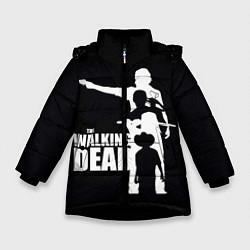 Куртка зимняя для девочки Walking Dead: Family цвета 3D-черный — фото 1