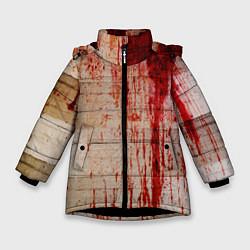 Куртка зимняя для девочки Бинты 1 цвета 3D-черный — фото 1
