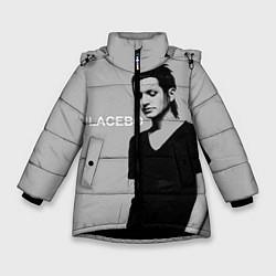 Куртка зимняя для девочки Placebo цвета 3D-черный — фото 1