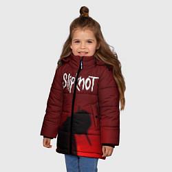 Куртка зимняя для девочки Slipknot Shadows цвета 3D-черный — фото 2