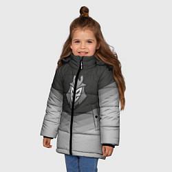 Куртка зимняя для девочки G2 Esports Uniform цвета 3D-черный — фото 2