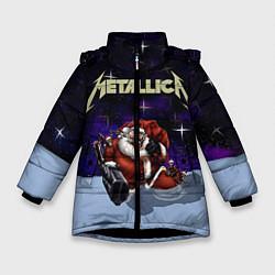 Куртка зимняя для девочки Metallica: Bad Santa - фото 1