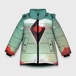Куртка зимняя для девочки No Mans Sky цвета 3D-черный — фото 1