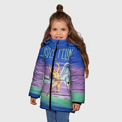 Куртка зимняя для девочки Led Zeppelin: Angel - фото 2