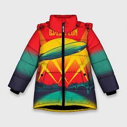 Куртка зимняя для девочки Led Zeppelin: Hindenburg - фото 1