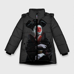 Куртка зимняя для девочки Ghost In The Shell 2 цвета 3D-черный — фото 1
