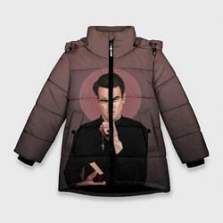 Куртка зимняя для девочки Cassidy цвета 3D-черный — фото 1