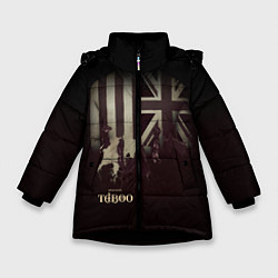 Куртка зимняя для девочки Taboo London цвета 3D-черный — фото 1