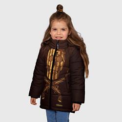 Куртка зимняя для девочки Taboo Duel - фото 2