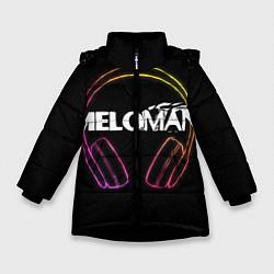 Куртка зимняя для девочки Meloman цвета 3D-черный — фото 1